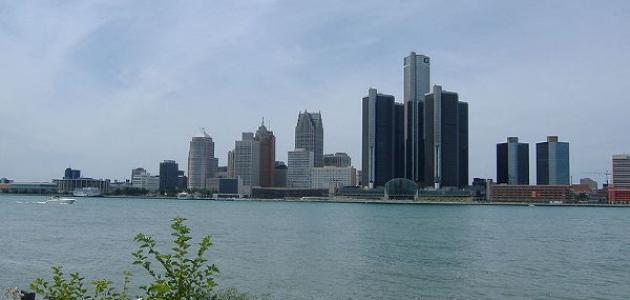 معلومات عن مدينة ديترويت