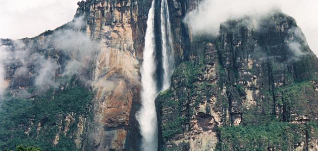 ما هي أعلى شلالات في العالم