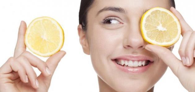 فوائد الليمون لتفتيح البشرة