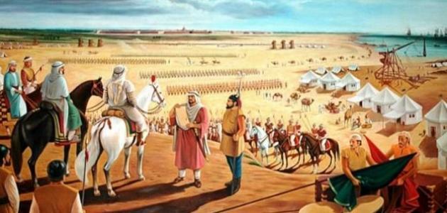 من هو فاتح بلاد الشام