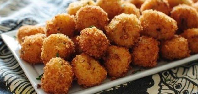 طريقة تحضير كرات البطاطس