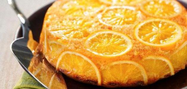 طريقة تحضير جاتو البرتقال
