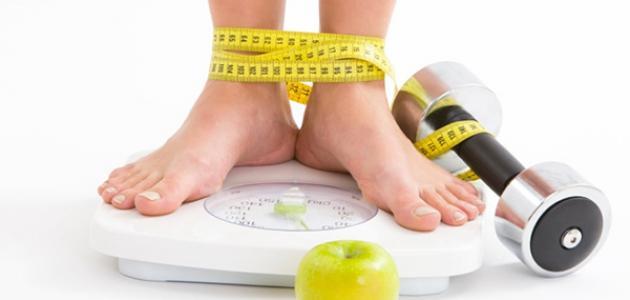 طريقة لتخفيف الوزن في شهر