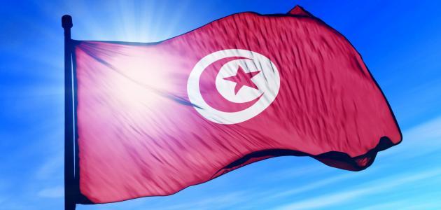 معنى علم تونس