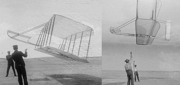 أول من صنع طائرة شراعية