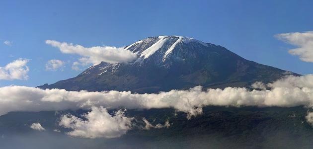 معلومات عن جبل كليمنجارو