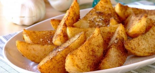 طريقة تحضير بطاطس ودجز