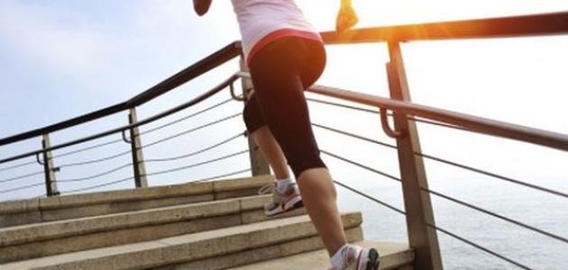 فوائد رياضة صعود ونزول الدرج