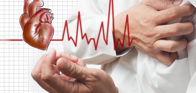 أعراض أمراض القلب عند الكبار