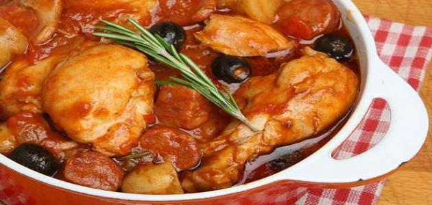 أطباق دجاج للغداء