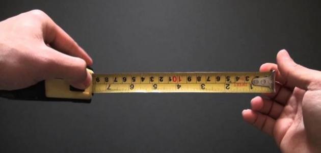 معلومات عن أدوات القياس