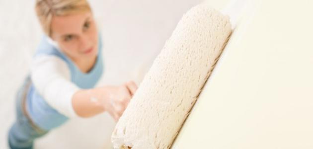 تعلم كيفية دهان الجدران