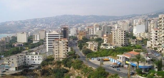 مدينة جونيه في لبنان