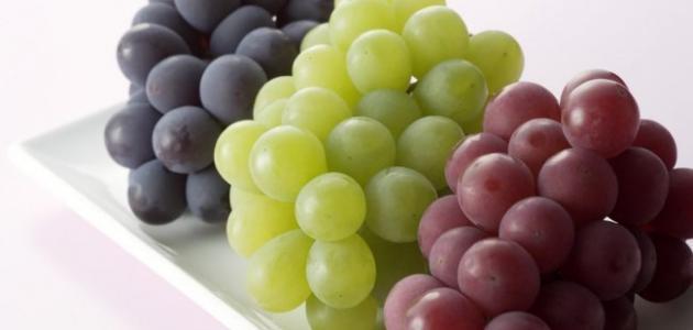 فوائد العنب للحامل في الأشهر الأولى