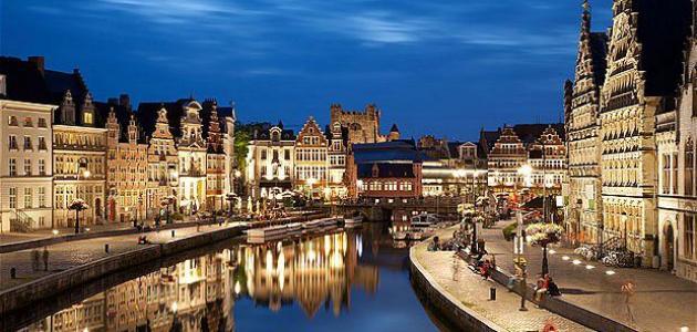 مدينة جنت البلجيكية