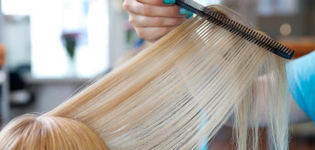 طريقة لتغذية وتطويل الشعر