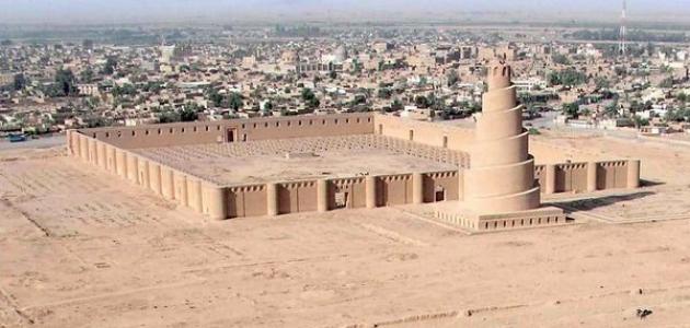 مدينة سامراء في العصر العباسي