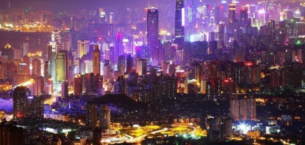 مدينة شنزن في الصين