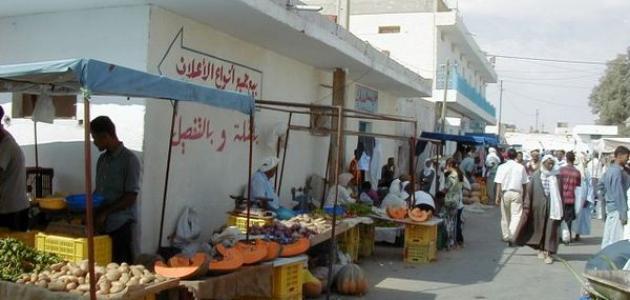 مدينة دوز التونسية