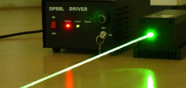ما هي أشعة الليزر