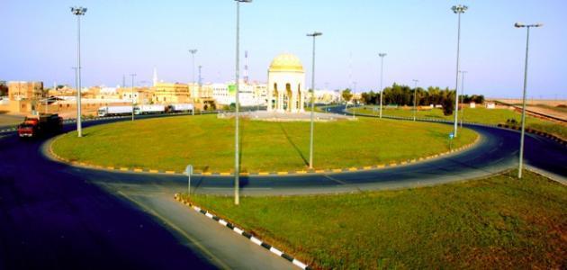 مدينة رفحاء في السعودية