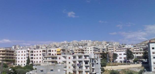 مدينة سلقين في سوريا