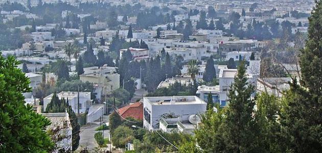 مدينة رادس في تونس