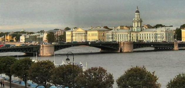 مدينة بطرسبورغ الروسية