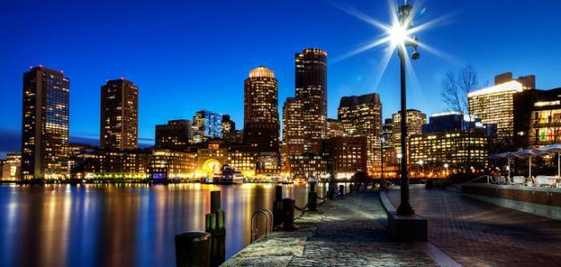 مدينة بوسطن في أمريكا