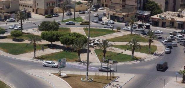 مدينة ترهونة في ليبيا