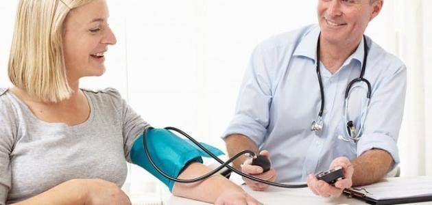 ارتفاع ضغط الحامل في الشهر السابع