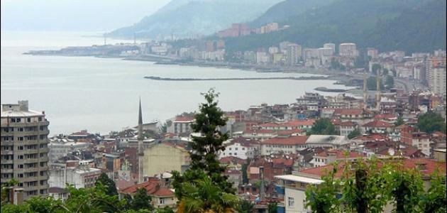 مدينة ريزا في تركيا