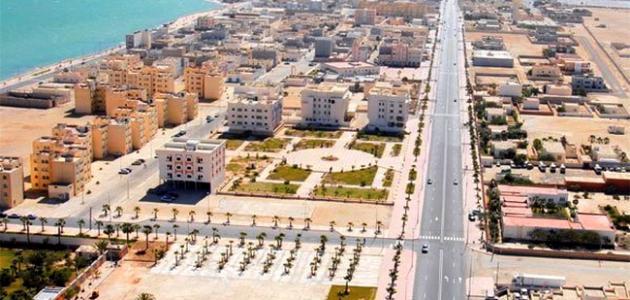مدينة الداخلة بالمغرب