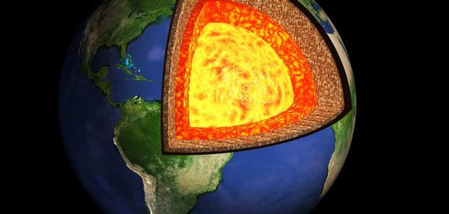 ما هي طبقات الأرض