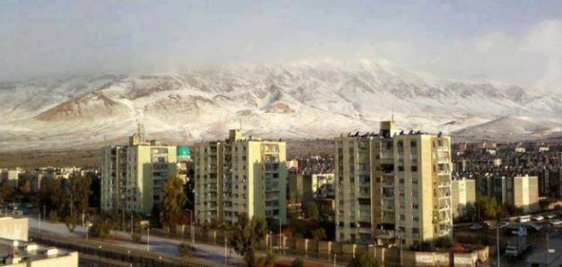 مدينة عدرا في سوريا