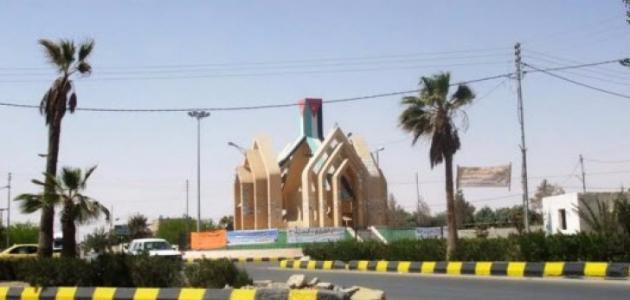 مدينة معان في الأردن