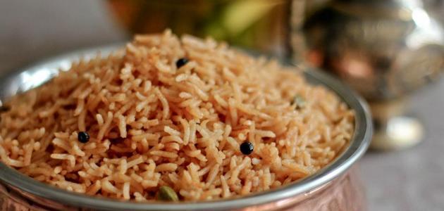 عمل الأرز المبهر