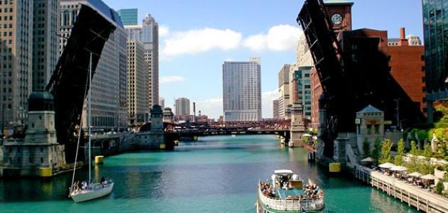مدينة شيكاغو الأمريكية
