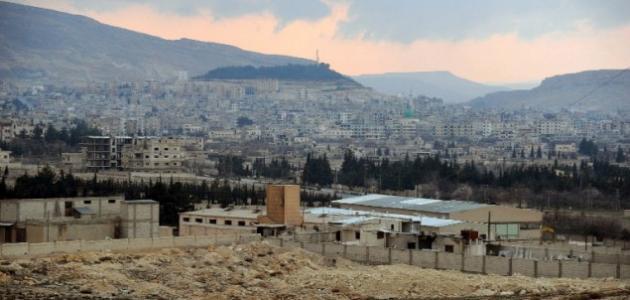 مدينة يبرود السورية