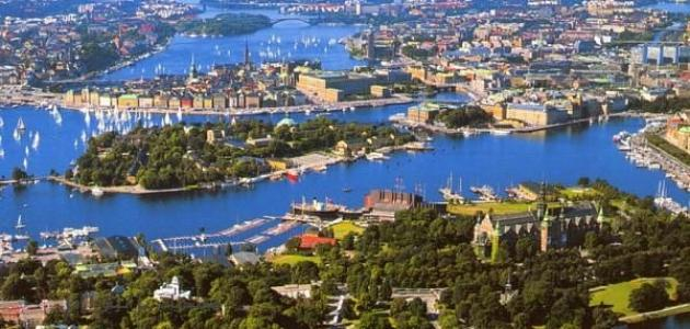 عدد مدن السويد
