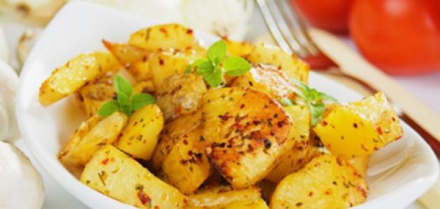 طريقة عمل البطاطا الحرة