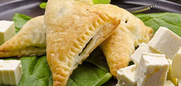 بف باستري بجبنة فيتا مع السبانخ