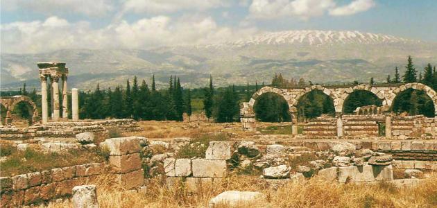 مدينة عنجر الأثرية