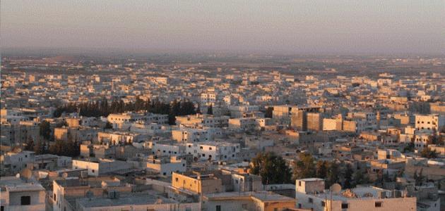 مدينة الباب في ريف حلب