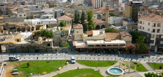 مدينة عنتاب في تركيا