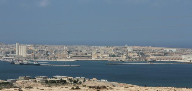 مدينة طبرق في ليبيا