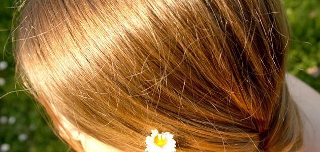 فيتامين ج لتفتيح لون الشعر