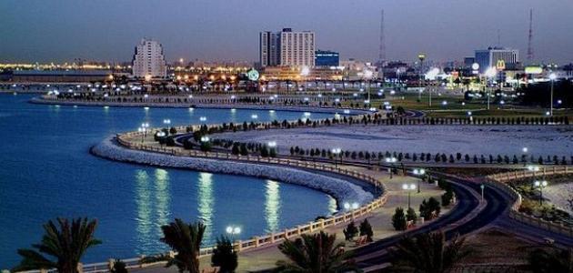مدينة ضبا في السعودية