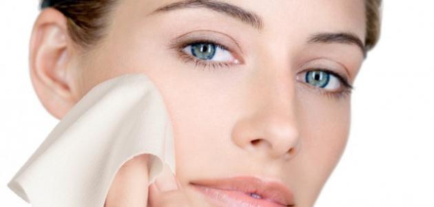 طريقة التخلص من قشرة الوجه