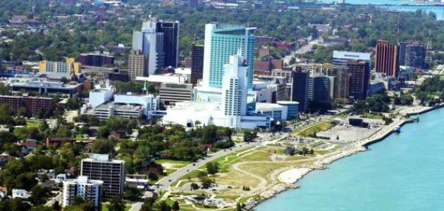 مدينة وندسور في كندا